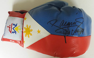 MANNY PACQUIAO Signed Glove WORLD WELTERWEIGHT BOXING Champion COA