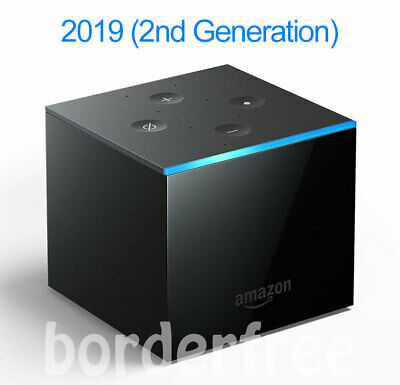 All-new Fire TV Cube, 4K Ultra HD streaming media player (2nd Gen) released 2019