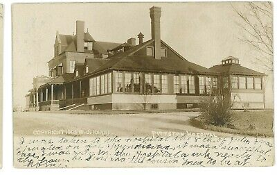RPPC Hospital in PITTSTON PA Luzerne County Real Photo Postcard