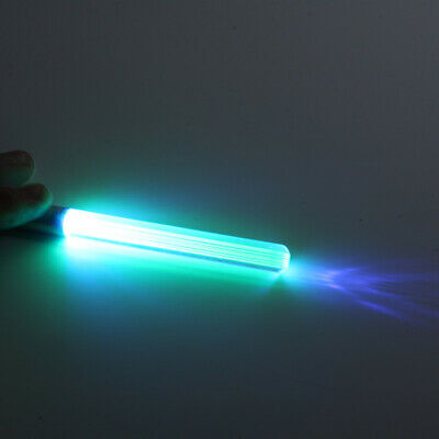 LED Flash Light Laser Key Chain Lamps Pointer Glow UV Keychain Torch Lightsaber