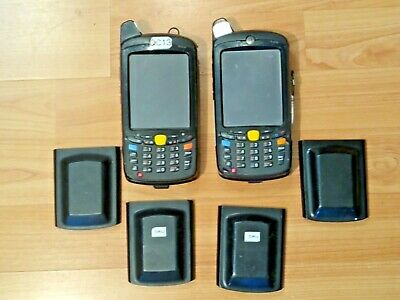 **100% UNTESTED**LOT 2x MOTOROLA SYMBOL MC659b-PD0BAA00100 BARCODE SCANNER MC65