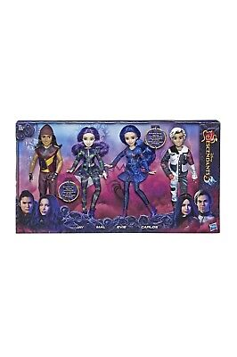 RARE Disney Descendants 3 Isle of The Lost Dolls 4 Pack New In Box Sold Out