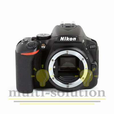 Véritable Nikon D5600 Digital SLR Camera Body Only (Black) (Kit Box)