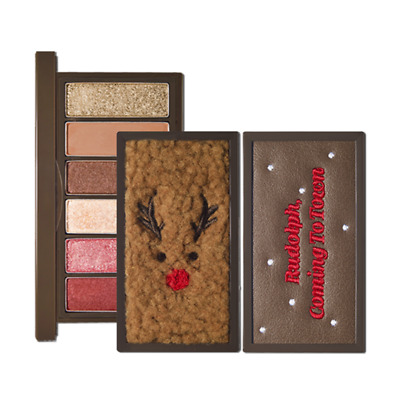 [ETUDE HOUSE] Holiday edition Eyeshadow Palette - Rudolph play color eyes mini
