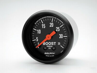 2616 Autometer 2616 Z Series Mechanical Boost Gauge