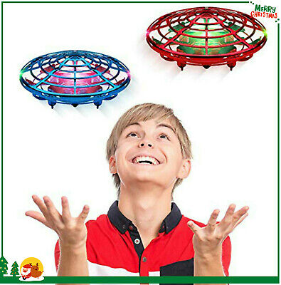 Mini Drone Kids Gift Quad Induction Levitation UFO Hand Operated Helicopter Toys