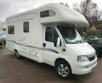 used motorhomes 4 berth Fiat Ducato Bessacar  Coach Built