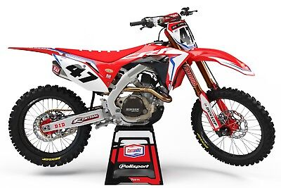 Graphics Kit to fit: HONDA CRF125F Model 2013-2018