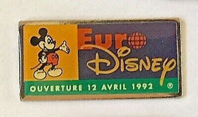 6 EURO DISNEY PINS  (All different)...    📮I combine postage
