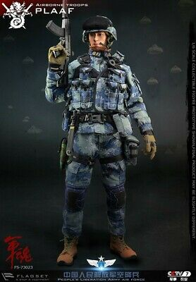 FLAGSET 1/6 Army Soul Series FS-73023 PLAAF Airborne Male Soldier Action Figure