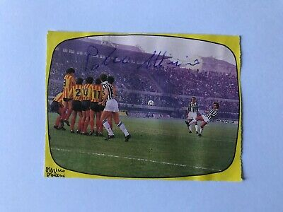 Autografo originale MARINO PALESE-US Lecce 87/88-Ex-Catanzaro/Virescit-IN PERSON