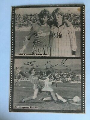 Autografo originale COSTANZO BARCELLA-Atalanta Bergamo 86/87-Virescit-IN PERSON