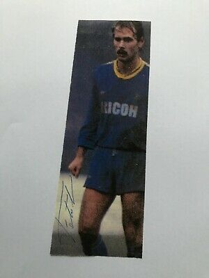 Autografo originale SILVANO FONTOLAN-Hellas Verona 85/86-Ex-Como-IN PERSON