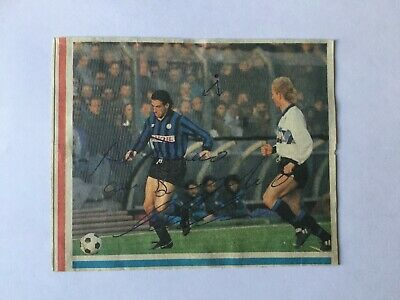 Autografo originale ARMANDO MADONNA-Atalanta Bergamo 89/90-ora INTER-IN PERSON!
