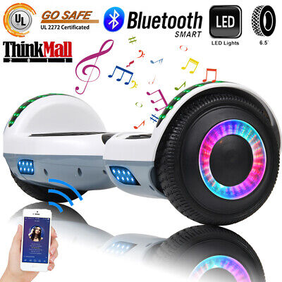 """6.5"""" Bluetooth Hoverboard LED Self Balancing Electric Scooter Without Bag XMAS"""