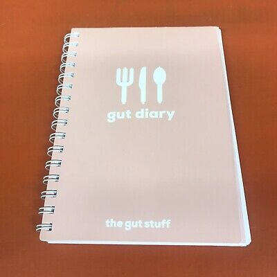 The Gut Diary by The Gut Stuff | 12 Week food diary journal IBS Stress | RRP £15