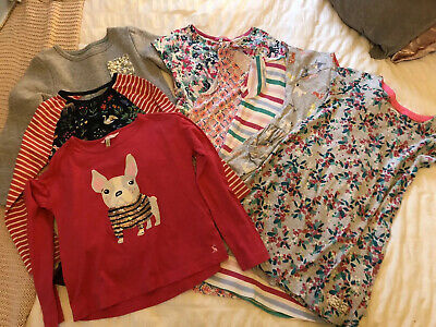 Girls joblot bundle of BODEN & JOULES clothing age 7-8 years x7 Items