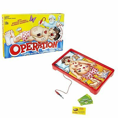 Toys Hasbro Classic Operation Game 6 Years & up Operation game Doctor game kids