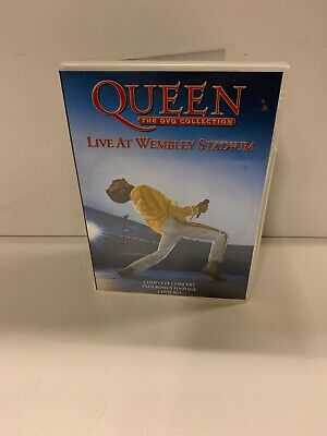 Queen The Dvd Collection Live At Wembley Stadium 2 Disc Set Genuine R2 DVD VGC