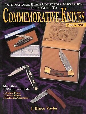1,200+ Commemorative Knives 1960-1990 Identification Manufacturers Values / Book