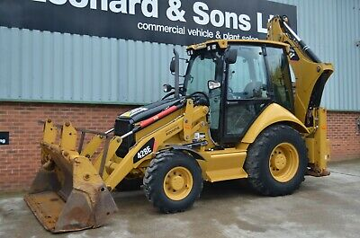 CATERPILLAR 428E Backhoe Loader  year / 2012 / hours 4730