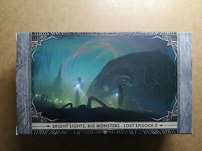 BRIGHT LIGHTS BIG MONSTERS  lost EP2/no miniature//CTHULHU DEATH MAY DIE/CMON