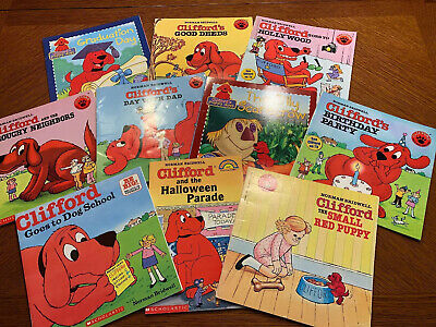 Wondrous Clifford The Big Red Dog Learning 3 Pack 5 99 Picclick Machost Co Dining Chair Design Ideas Machostcouk