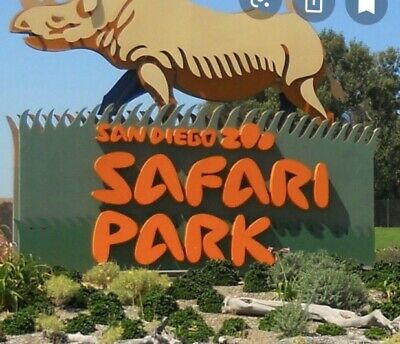San Diego Safari Park Tix ONLY-bought on Groupon. Black out dates 11/29 & 11/30