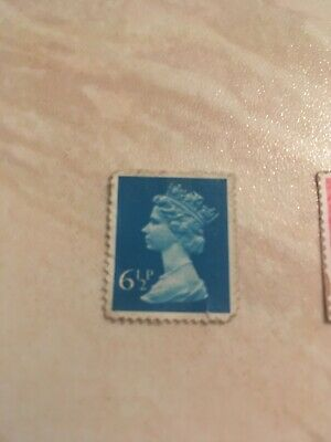 UK Stamp 6 1/2 P Pence And Half Postage Rare Unused 6.5 Queens Head
