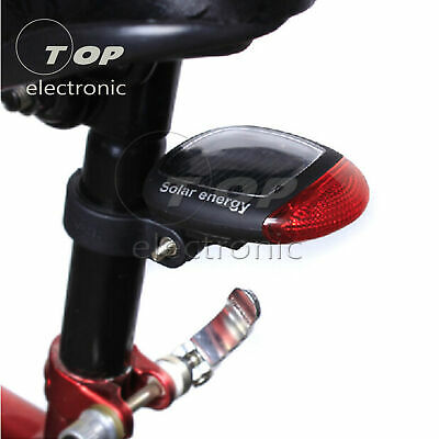 Bike Bicycle Tail Light Rear Lamp USB Fast Charge Colorful LED Brake S9V3X
