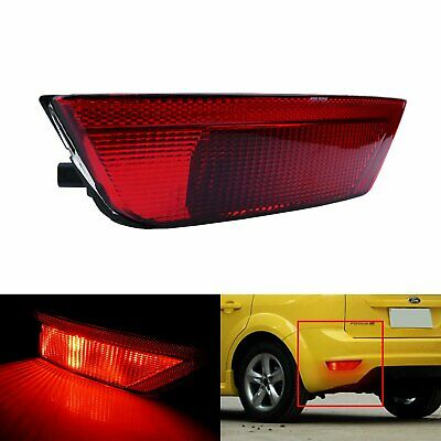 Fit Ford Focus 08-10 Rear Bumper Reflector Fog Reverse Light Left N//S With Bulb