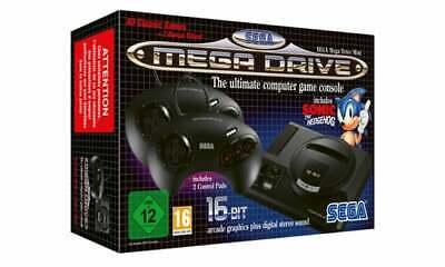 SEGA Mega Drive Mini HD Console 40 Games+ 2 Controller In stock now
