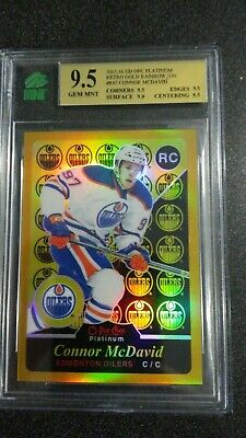 2015-16 O-Pee-Chee Platinum Retro Rainbow Gold #R97 Connor McDavid