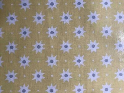 Laminated Fabric Remnant by Freesspirit Fabrics
