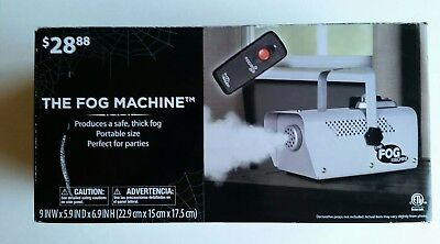 The Fog Machine Portable New Thick Safe with Remote Control