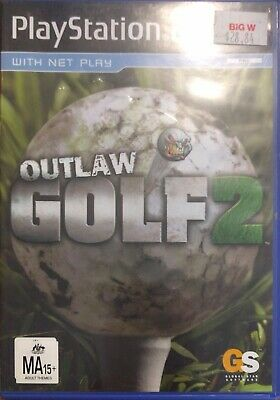 Playstation 2 PS2 Outlaw Golf 2