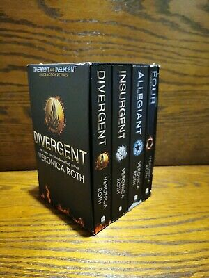 Divergent Series Box Set (books 1-4 plus World of Divergent) by Veronica Roth (…