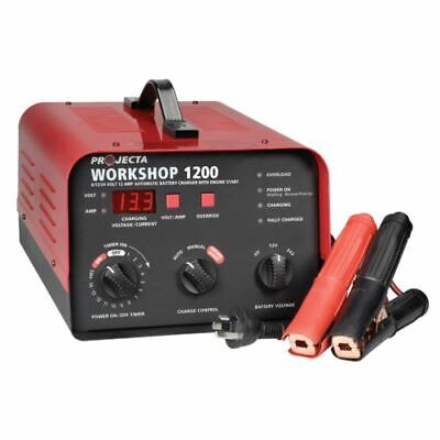 Projecta HDBC20 6/12/24V Automatic & Manual 12 Amp 2 Stage Battery Charger