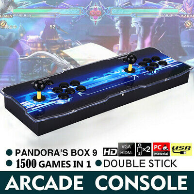 Pandora's Box 9 1500 in 1 Video Game Arcade Console 2 Player Double Stick HD