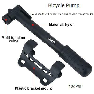 OUTAD Mini High Pressure Bike Pump Tire 200 psi//15 bar for Road /& Mountain US