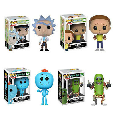 Limited Edition Funko Pop Rick And Morty Vinyl Action Figure Toy Kids Gift