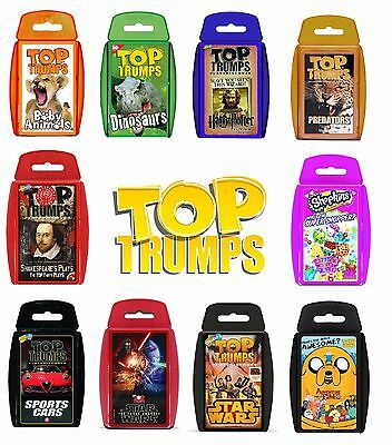 Top Trumps Card Games - FAST & FREE DELIVERY
