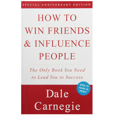 HOW TO WIN FRIENDS AND INFLUENCE PEOPLE - Dale Carnegie - PDF format (DIGITAL)