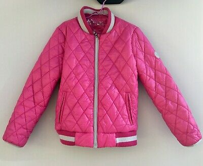 Michael Kors Coat Jacket Quilted Cerise Pink Age 6! IMMACULATE
