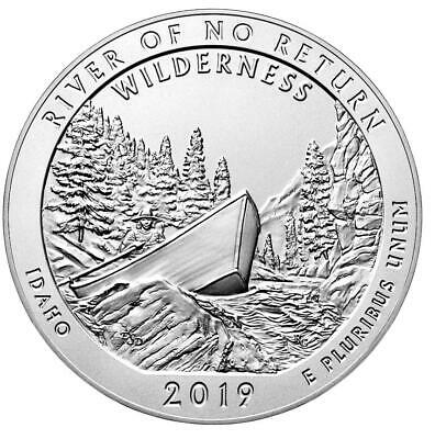 """2019 ATB 5 oz Frank Church River Of No Return (ID) - With """"NEW"""" Air-Tite Holder"""
