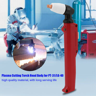 PT-31 LG-40 Plasma Cutter Hand Manual Cutting Torch Head Body Welding Consumable