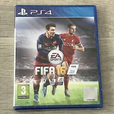 Sony PlayStation 4 (PS4) Game - FIFA 16 BRAND NEW & SEALED
