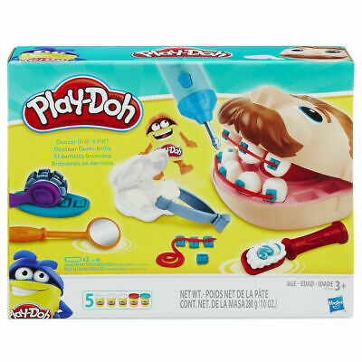 Play-Doh Doctor Drill n Fill Play Set - Dr / Dentist Play Dough Playset - NEW