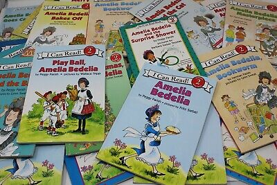 Lot of 8 Amelia Bedelia I Can Read Level 2 - Random - Free Shipping