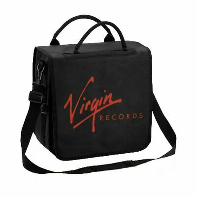 """Virgin Records Backpack 12"""" Vinyl Record Bag (holds up to 50 records)"""